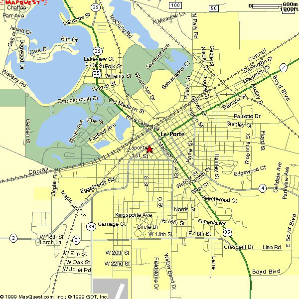 Map of laporte indiana indiana map for City of laporte indiana jobs