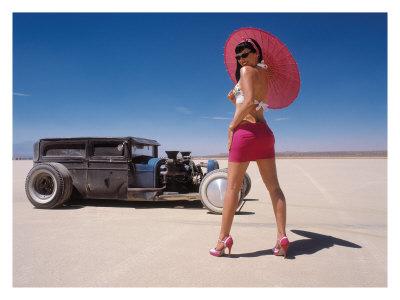 Girl on Northwest Indiana Photo Gallery   Auto Showcase Rat Rod
